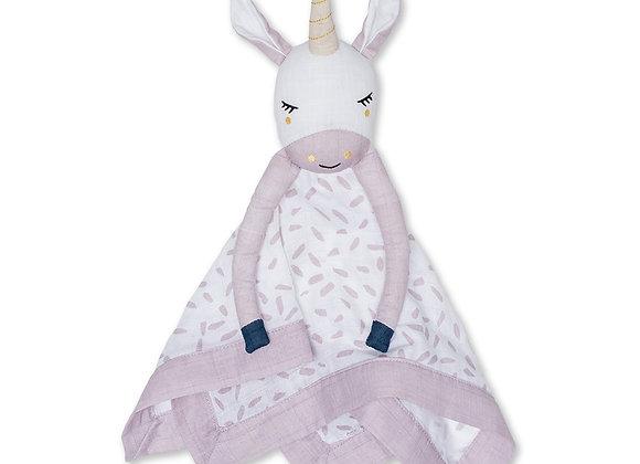 Cotton Muslin Lovie - Unicorn