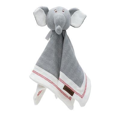 Organic Cottage - Lovey Elephant - Driftwood Grey