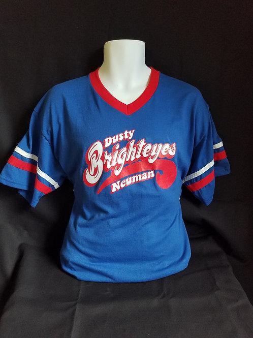 Blue Baseball T