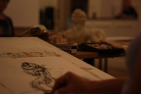 Life Drawing with Liz Monahan
