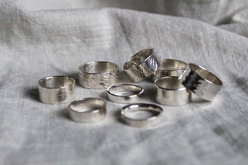 Make your own Silver Ring
