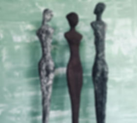 Monika Wesselmann Three Figures 2019 No