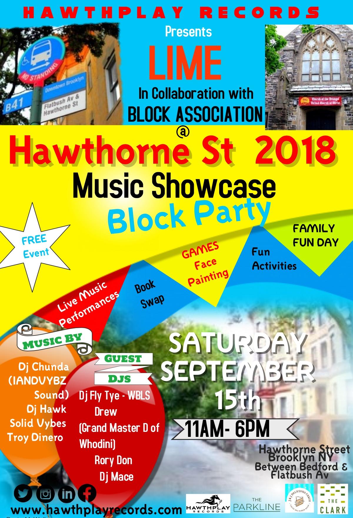 Hawthorne Street Block Party