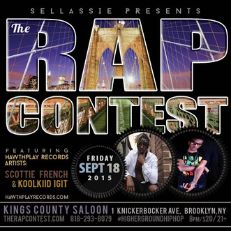SCOTTIE FRENCH AND KOOLKID IGIT WILL BE FEATURED ARTISTS AT THE SELLASSIE RAP CONTEST