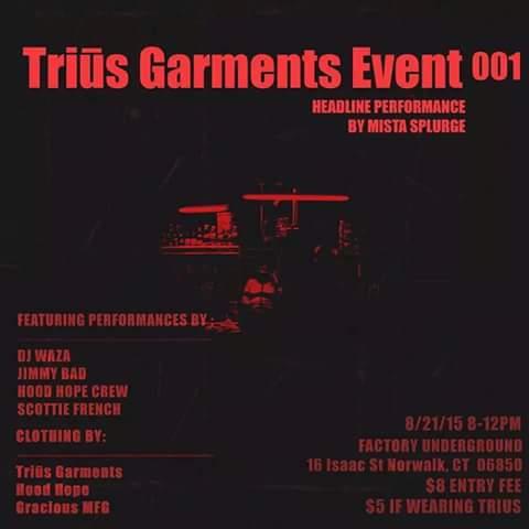 Trius Garment Event