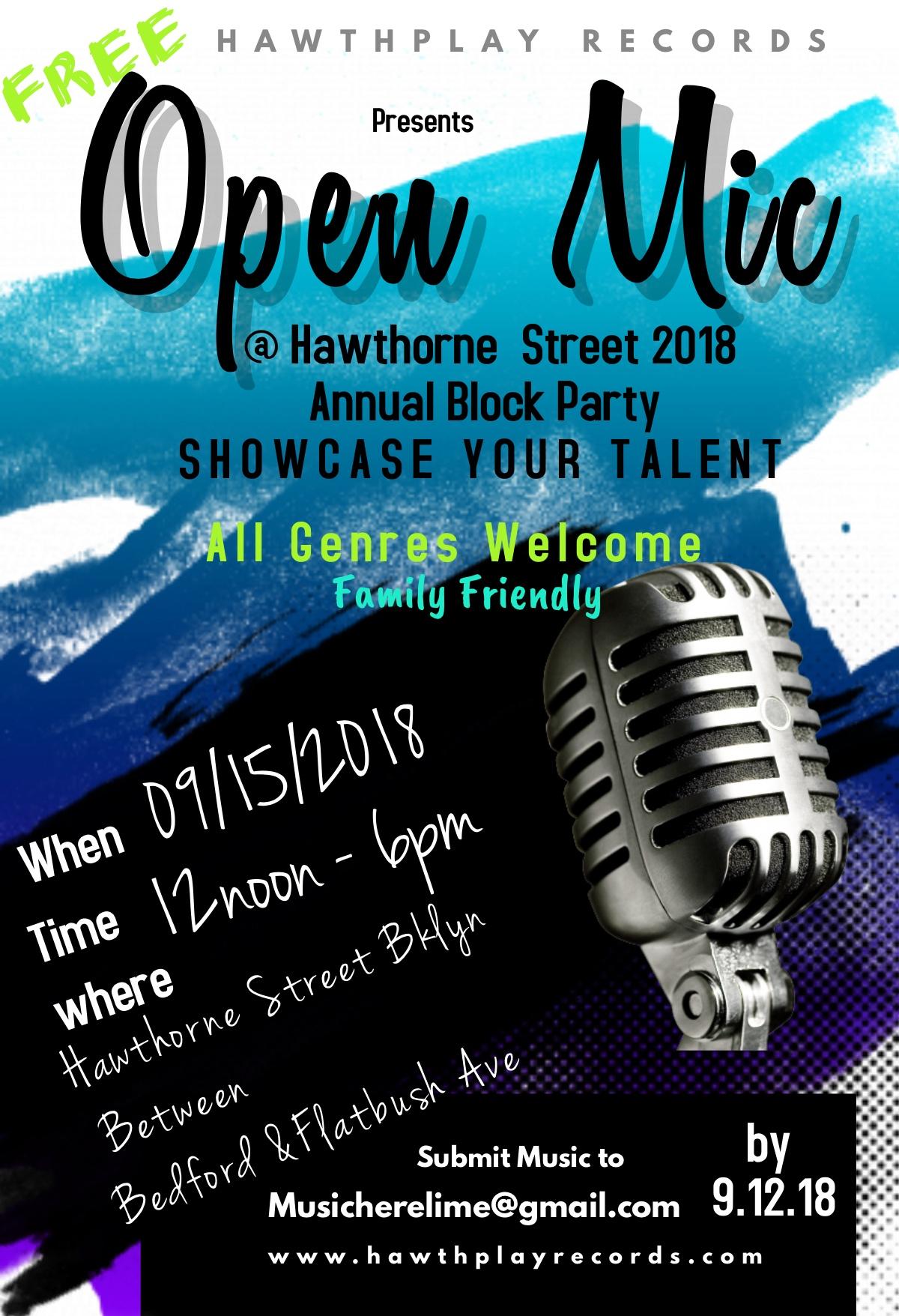 Open Mic_ Music Showcase