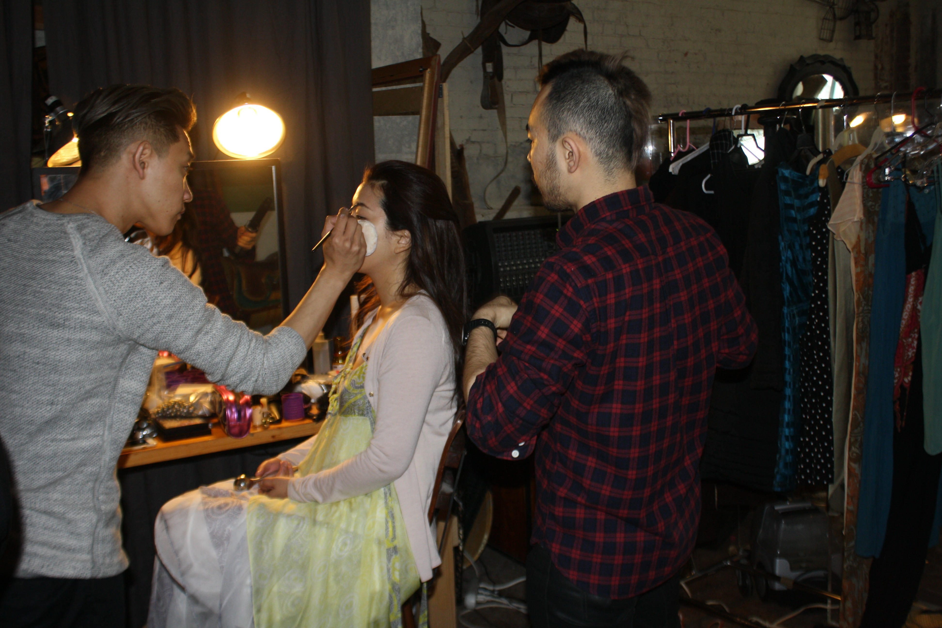 Akemi and her glam squad