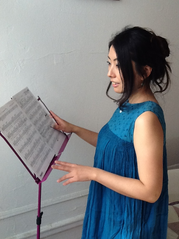 Akemi Rehearsing