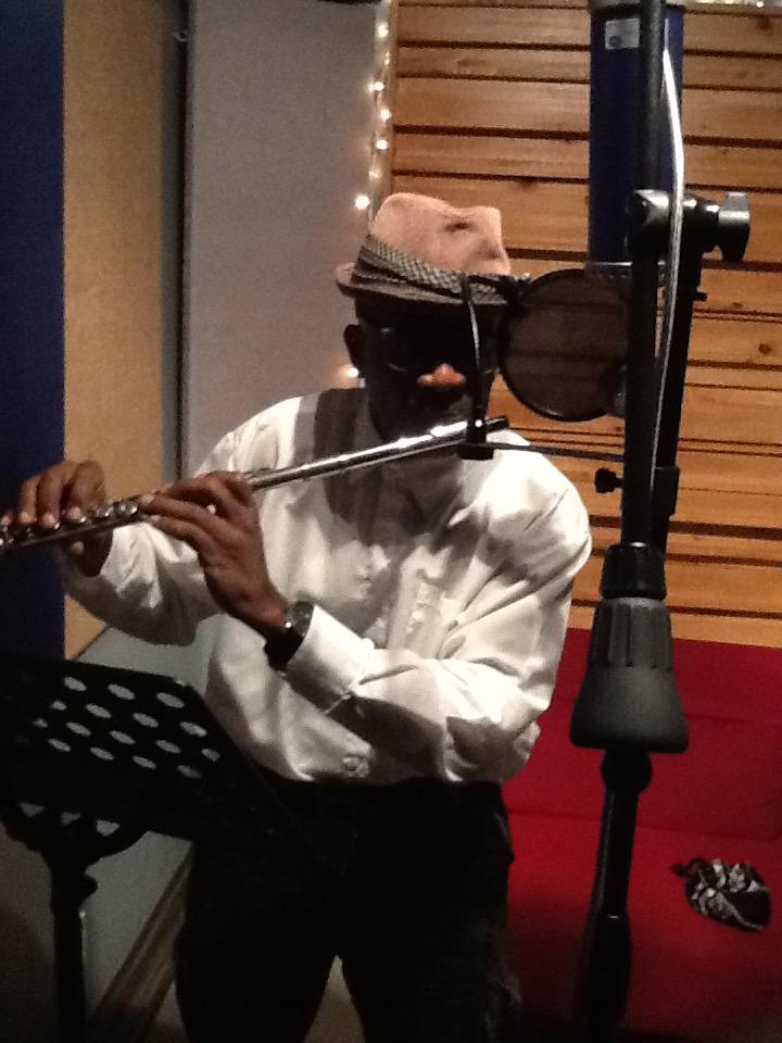 Ronald in Studio Recording