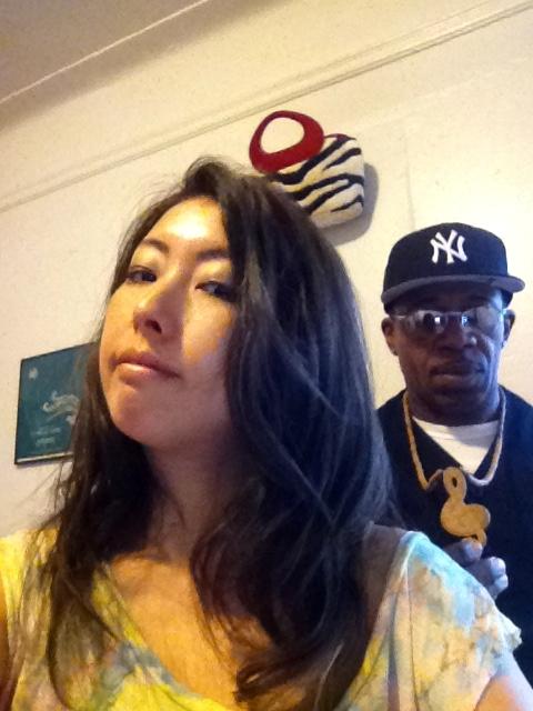 Akemi and Ronald rehearsal