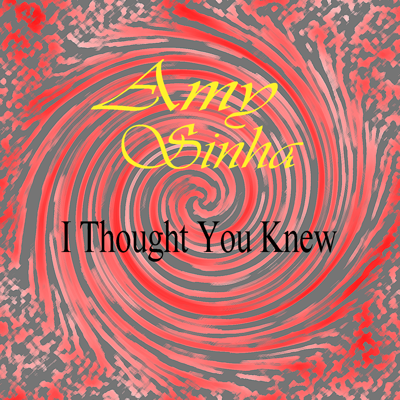 I thought you knew - Cover Art