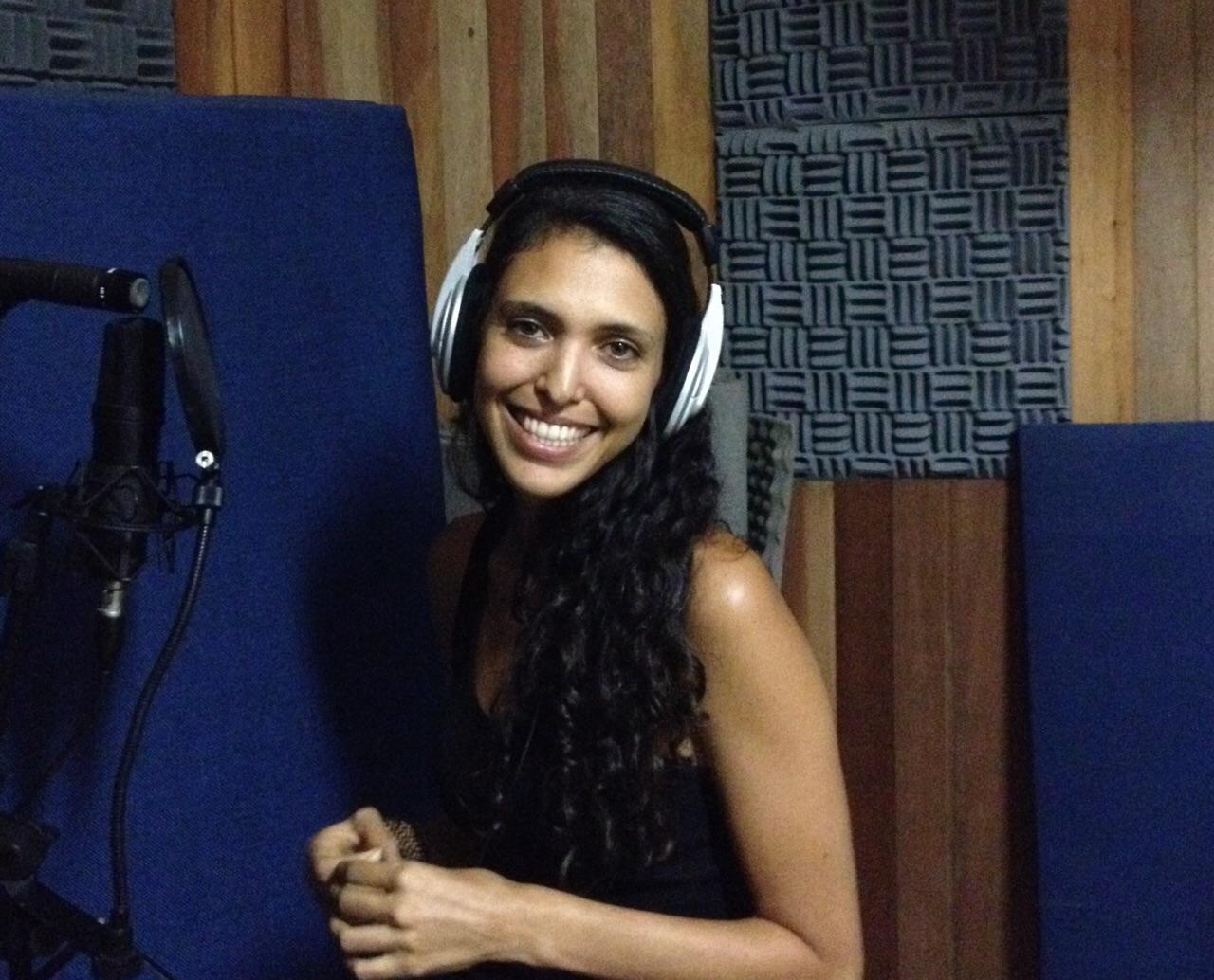 Samia in Brazil Recording