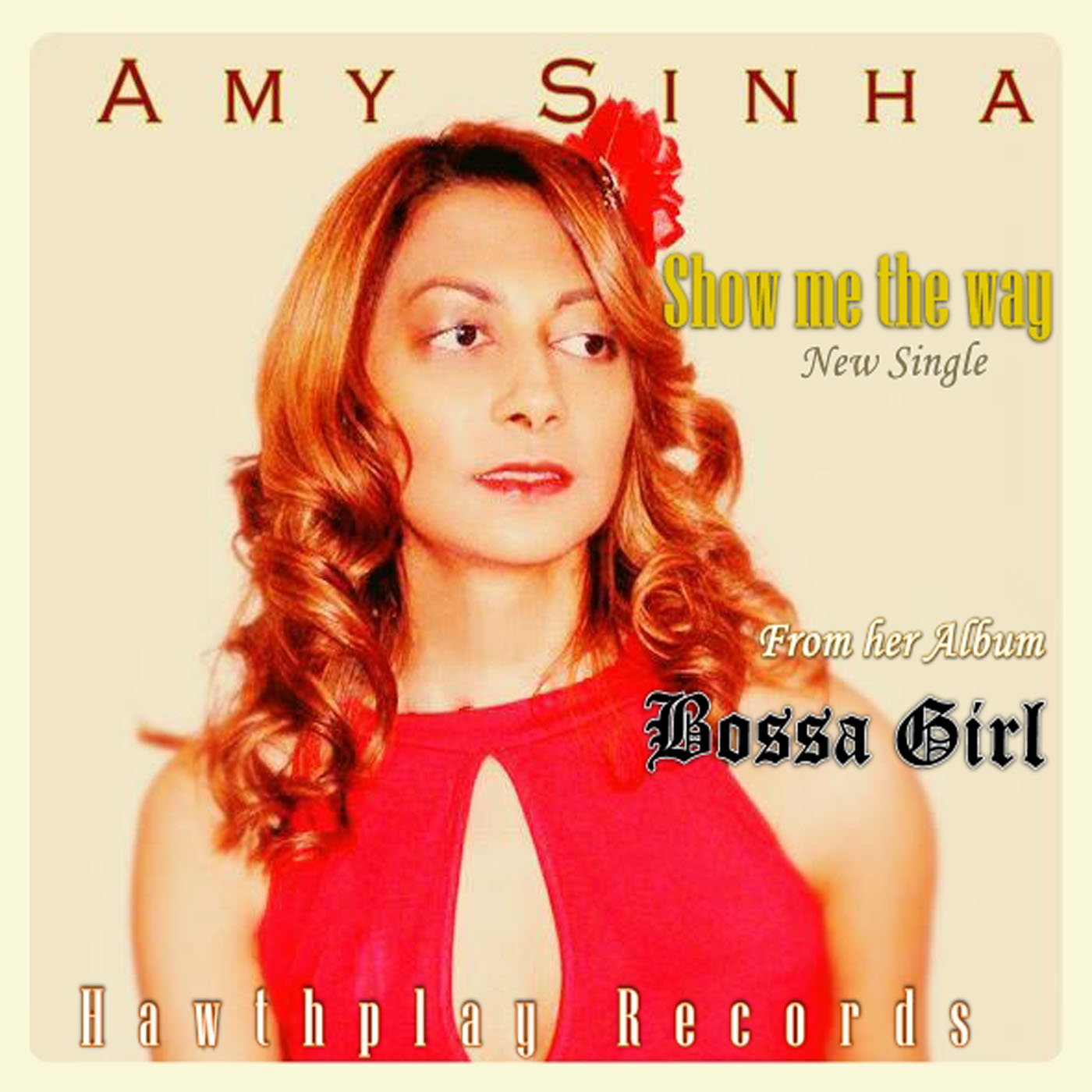 Amy Sinha (Bossa Girl Album Cover)