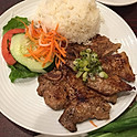 C10. Rice & Two Grilled Pork Chops or Sliced Pork Tenderloins