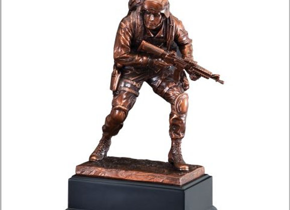 Marine American Hero Sculpture