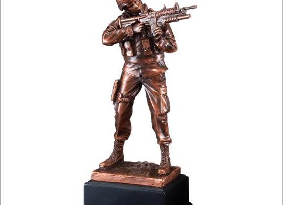 Army American Hero Sculpture