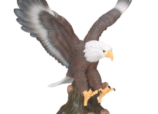 Hand Painted Resin Eagles