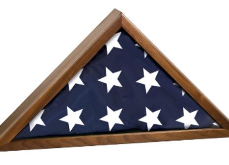 Walnut Flag Box