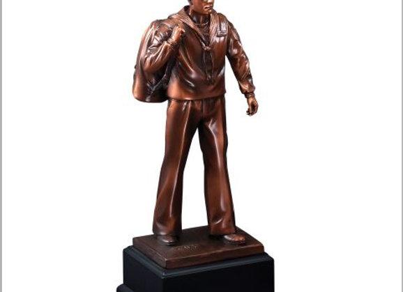 Navy American Hero Sculpture