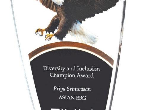 Eagle Die Cut Acrylic Award