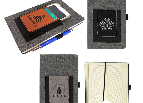 Leatherette Canvas Journals