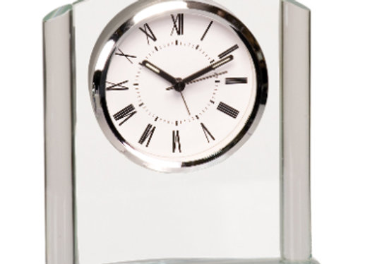 Arched Glass Clock