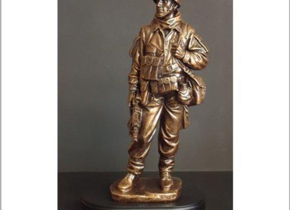 American Hero Resin Sculpture