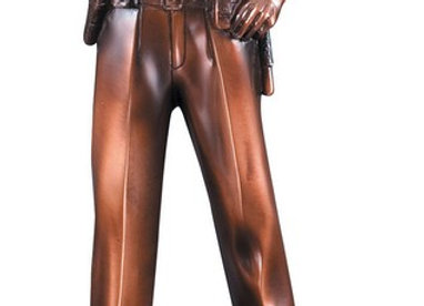 Police American Hero Resin Sculpture