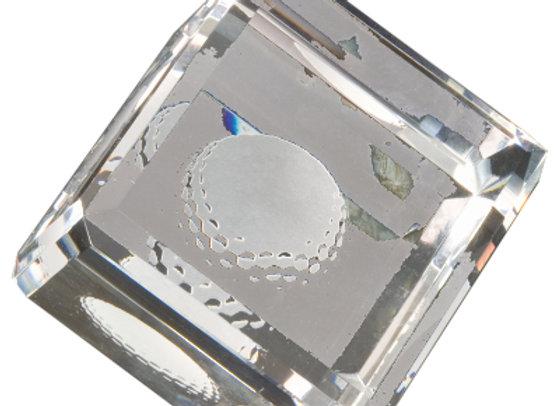 Premier Crystal Award-Cube