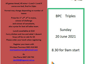 BPC TRIPLES 2021