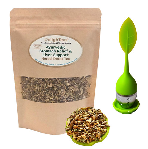 Ayurvedic Stomach Relief & Liver Cleanse tea
