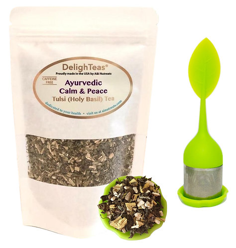 Ayurvedic Calm & Peace Tulsi tea