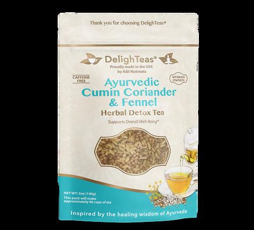 Ayurvedic Cumin, Coriander & Fennel Tea