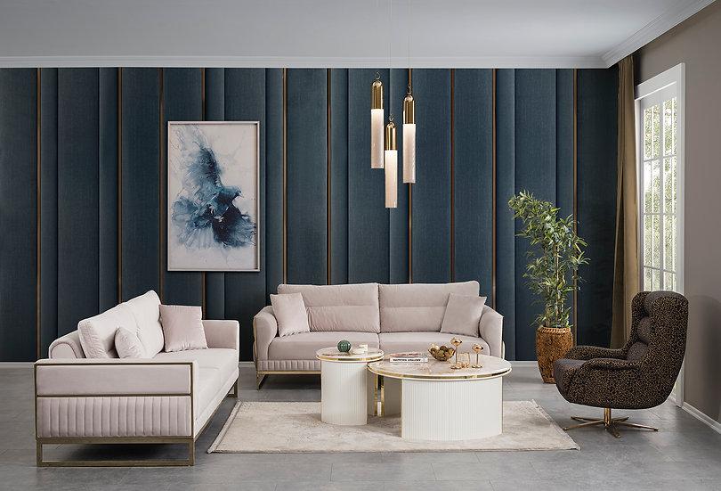 Soft Sofa Set 3-3-1