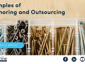 Examples of Offshoring and Outsourcing