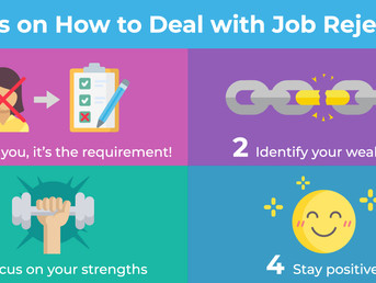 4 Tips on How to Deal with Job Rejection