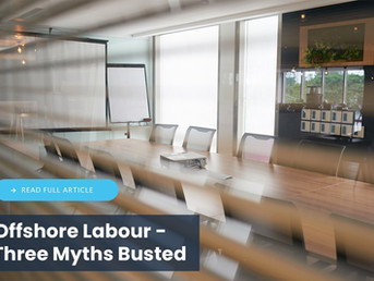 Offshore Labour - Three Myths Busted