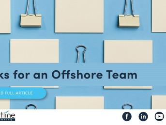 Tasks for an Offshore Team