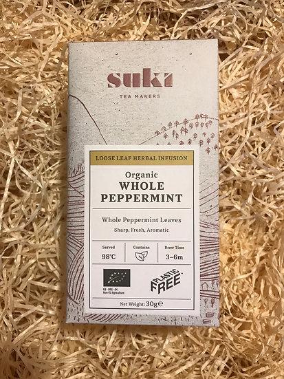 Suki Organic Whole Peppermint Tea