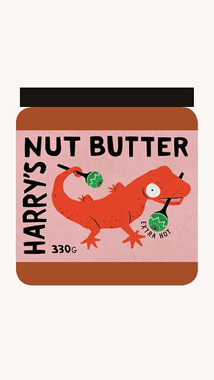 Harry's Nutbutter Extra Hot!