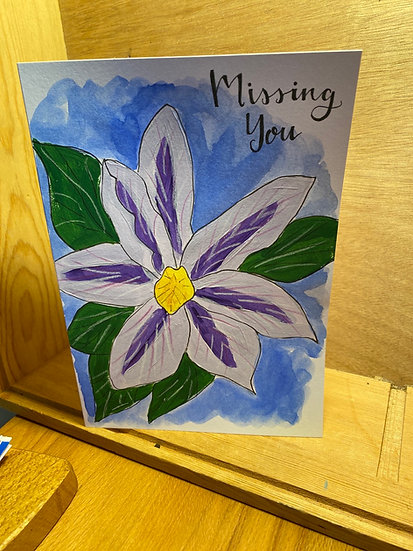Missing You - Handmade by Maia