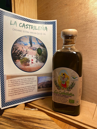 Organic Spanish Olive Oil extra virgin