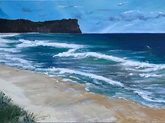 *Surf Beach (private collection)