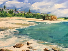 *Warriewood Beach (private collection)