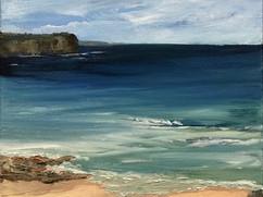 *Beachscape I (private collection)