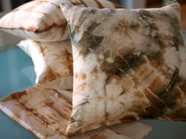 Handmade Cushions - Natural Fabrics