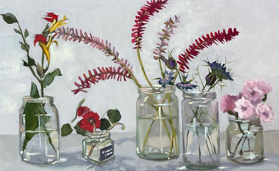 Still Life - Garden Flowers