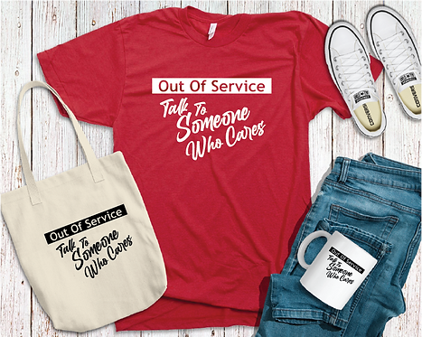 Out of service t-shirt