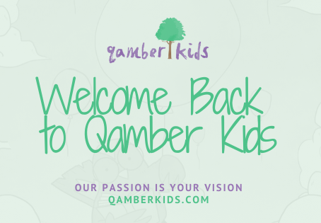 Welcome to the Qamber Kids Blog
