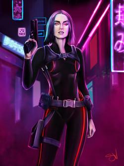 Police cyberpunk